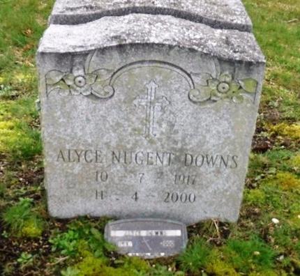 DOWNS, ALYCE - Suffolk County, New York | ALYCE DOWNS - New York Gravestone Photos