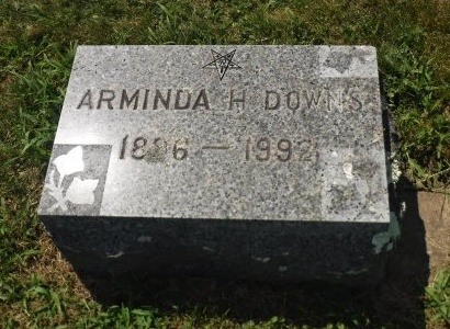 DOWNS, ARMINDA H - Suffolk County, New York | ARMINDA H DOWNS - New York Gravestone Photos