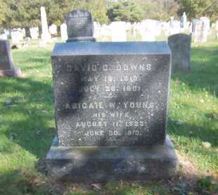 DOWNS, ABIGAIL W - Suffolk County, New York | ABIGAIL W DOWNS - New York Gravestone Photos