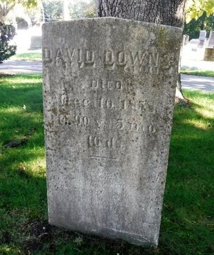 DOWNS, DAVID - Suffolk County, New York   DAVID DOWNS - New York Gravestone Photos