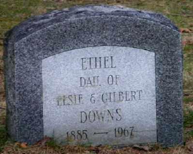 DOWNS, ETHEL - Suffolk County, New York | ETHEL DOWNS - New York Gravestone Photos