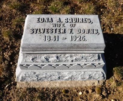 DOWNS, EDNA A - Suffolk County, New York   EDNA A DOWNS - New York Gravestone Photos