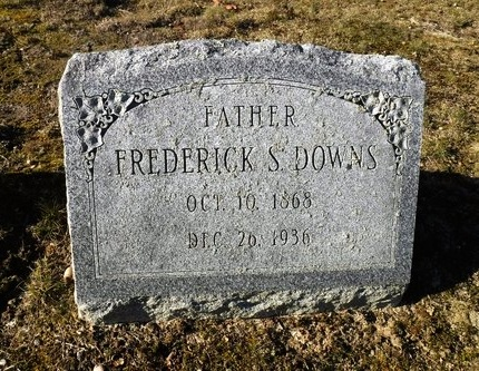 DOWNS, FREDERICK S - Suffolk County, New York | FREDERICK S DOWNS - New York Gravestone Photos