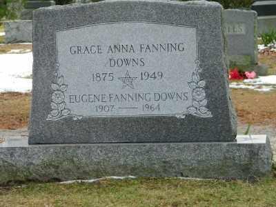 DOWNS, GRACE ANNA - Suffolk County, New York | GRACE ANNA DOWNS - New York Gravestone Photos