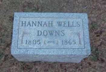 DOWNS, HANNAH - Suffolk County, New York | HANNAH DOWNS - New York Gravestone Photos