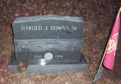 DOWNS, HAROLD J - Suffolk County, New York | HAROLD J DOWNS - New York Gravestone Photos