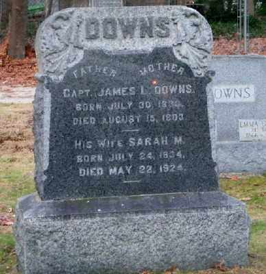 DOWNS, SARAH M. - Suffolk County, New York | SARAH M. DOWNS - New York Gravestone Photos