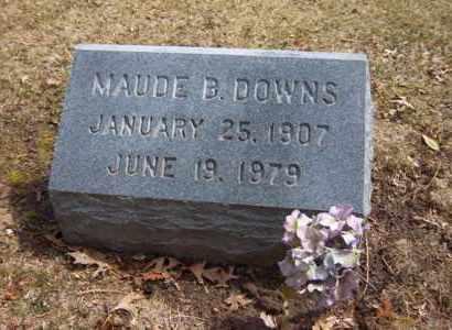 DOWNS, MAUDE B - Suffolk County, New York   MAUDE B DOWNS - New York Gravestone Photos