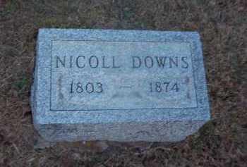 DOWNS, NICOLL - Suffolk County, New York | NICOLL DOWNS - New York Gravestone Photos