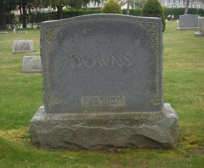 DOWNS, PETER B - Suffolk County, New York | PETER B DOWNS - New York Gravestone Photos