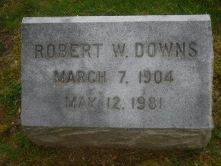 DOWNS, ROBERT W - Suffolk County, New York   ROBERT W DOWNS - New York Gravestone Photos