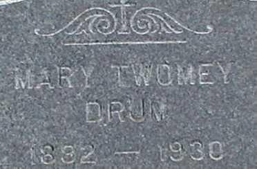 DRUM, MARY - Suffolk County, New York   MARY DRUM - New York Gravestone Photos
