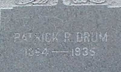 DRUM, PATRICK R. - Suffolk County, New York | PATRICK R. DRUM - New York Gravestone Photos