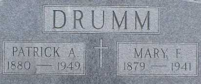 DRUMM, PATRICK A. - Suffolk County, New York | PATRICK A. DRUMM - New York Gravestone Photos