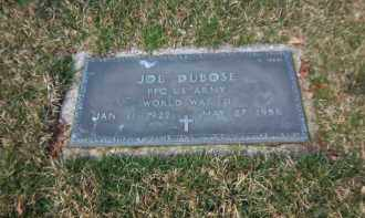 DUBOSE (WWII), JOE - Suffolk County, New York | JOE DUBOSE (WWII) - New York Gravestone Photos