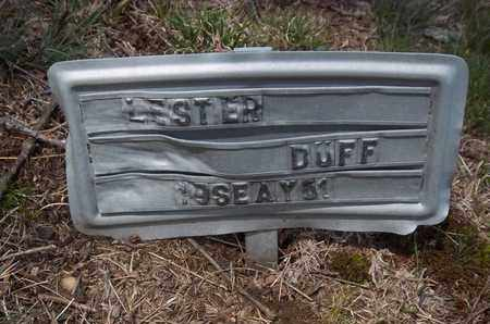 DUFF, LESTER - Suffolk County, New York | LESTER DUFF - New York Gravestone Photos