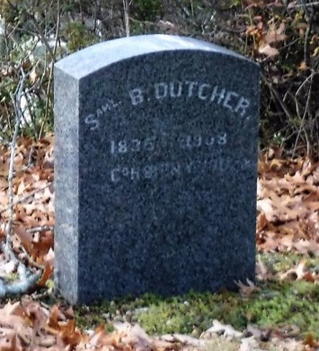 DUTCHER (CW), SAMUEL B - Suffolk County, New York | SAMUEL B DUTCHER (CW) - New York Gravestone Photos