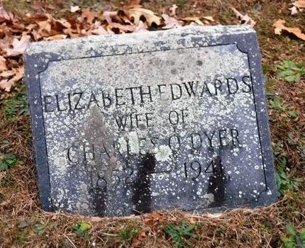 EDWARDS, ELIZABETH - Suffolk County, New York   ELIZABETH EDWARDS - New York Gravestone Photos
