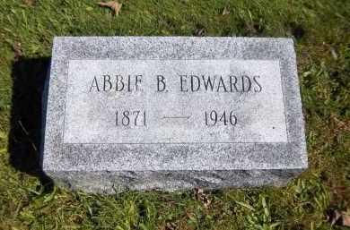 EDWARDS, ABBOE B - Suffolk County, New York | ABBOE B EDWARDS - New York Gravestone Photos
