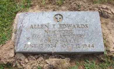 EDWARDS, ALLEN T. - Suffolk County, New York | ALLEN T. EDWARDS - New York Gravestone Photos