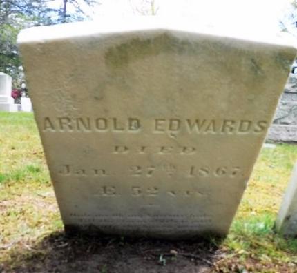 EDWARDS, ARNOLD - Suffolk County, New York   ARNOLD EDWARDS - New York Gravestone Photos