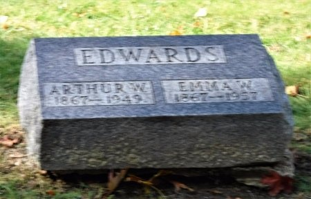 EDWARDS, EMMA W - Suffolk County, New York | EMMA W EDWARDS - New York Gravestone Photos