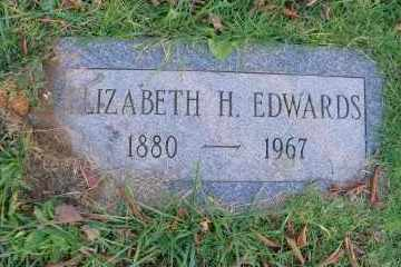EDWARDS, ELIZABETH H - Suffolk County, New York | ELIZABETH H EDWARDS - New York Gravestone Photos
