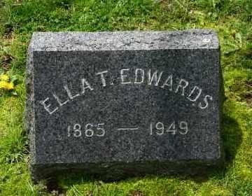 EDWARDS, ELLA T - Suffolk County, New York | ELLA T EDWARDS - New York Gravestone Photos