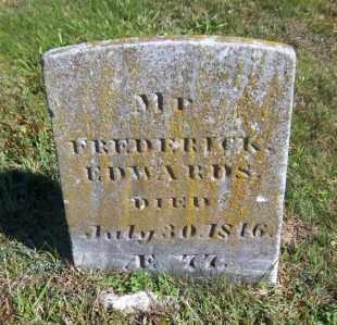 EDWARDS, FREDERICK - Suffolk County, New York | FREDERICK EDWARDS - New York Gravestone Photos