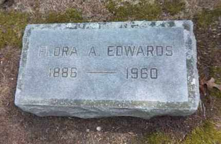 EDWARDS, FLORA A - Suffolk County, New York | FLORA A EDWARDS - New York Gravestone Photos