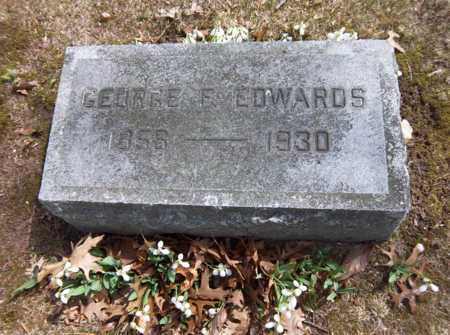 EDWARDS, GEORGE F - Suffolk County, New York   GEORGE F EDWARDS - New York Gravestone Photos