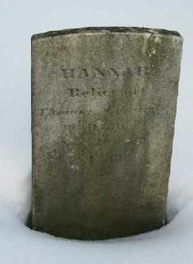 EDWARDS, HANNAH - Suffolk County, New York | HANNAH EDWARDS - New York Gravestone Photos