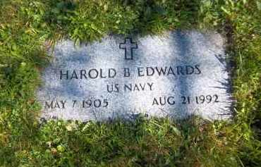 EDWARDS, HAROLD B. - Suffolk County, New York   HAROLD B. EDWARDS - New York Gravestone Photos