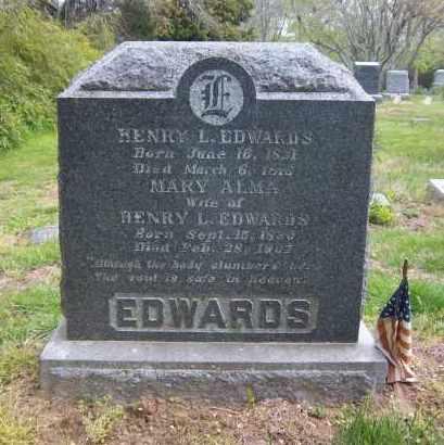 EDWARDS, MARY ALMA - Suffolk County, New York   MARY ALMA EDWARDS - New York Gravestone Photos