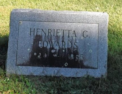 EDWARDS, HENRIETTA G - Suffolk County, New York | HENRIETTA G EDWARDS - New York Gravestone Photos
