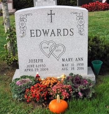 EDWARDS, MARY ANN - Suffolk County, New York | MARY ANN EDWARDS - New York Gravestone Photos