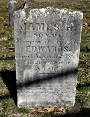 EDWARDS, JAMES H - Suffolk County, New York | JAMES H EDWARDS - New York Gravestone Photos
