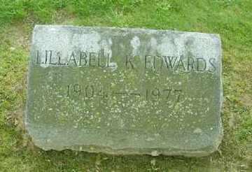EDWARDS, LILLABELL K. - Suffolk County, New York | LILLABELL K. EDWARDS - New York Gravestone Photos