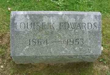 EDWARDS, LOUISE K - Suffolk County, New York | LOUISE K EDWARDS - New York Gravestone Photos