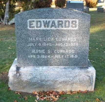 EDWARDS, JESSIE S - Suffolk County, New York | JESSIE S EDWARDS - New York Gravestone Photos