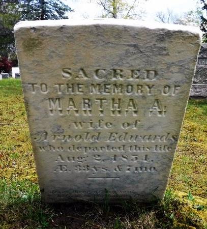 EDWARDS, MARTHA A - Suffolk County, New York | MARTHA A EDWARDS - New York Gravestone Photos