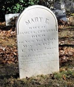 EDWARDS, MARY E - Suffolk County, New York | MARY E EDWARDS - New York Gravestone Photos