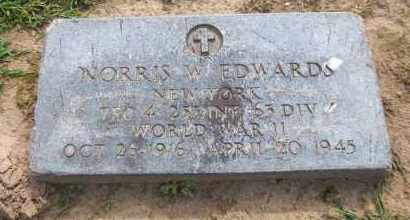 EDWARDS, NORRIS W. - Suffolk County, New York | NORRIS W. EDWARDS - New York Gravestone Photos