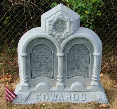 EDWARDS, SMITH - Suffolk County, New York | SMITH EDWARDS - New York Gravestone Photos