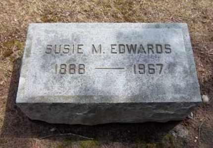 EDWARDS, SUSIE M - Suffolk County, New York | SUSIE M EDWARDS - New York Gravestone Photos