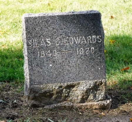 EDWARDS, SILAS C - Suffolk County, New York | SILAS C EDWARDS - New York Gravestone Photos