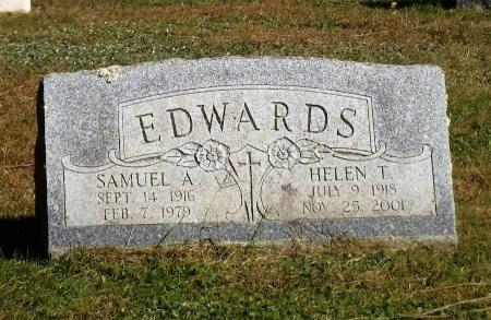 EDWARDS, SAMUEL A - Suffolk County, New York | SAMUEL A EDWARDS - New York Gravestone Photos