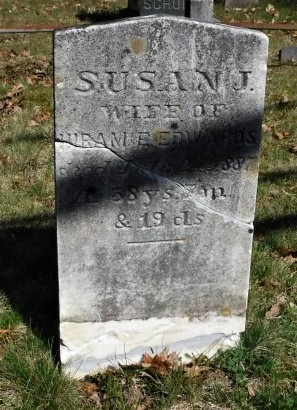 EDWARDS, SUSAN J - Suffolk County, New York | SUSAN J EDWARDS - New York Gravestone Photos