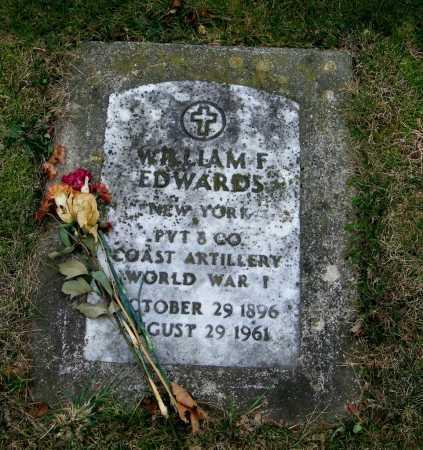 EDWARDS, WILLIAM F. - Suffolk County, New York | WILLIAM F. EDWARDS - New York Gravestone Photos
