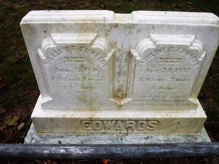 EDWARDS, CAROLINE - Suffolk County, New York | CAROLINE EDWARDS - New York Gravestone Photos